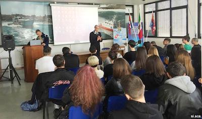 Dario Bilotti direttore museo navale Carmagnola a San Benedetto del Tronto