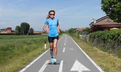 Valeria Straneo alla Mezza Maratona di Varenne 2014 a Vigone