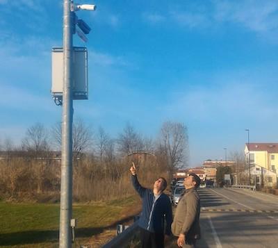 Telecamere e vigilanza privata a Villastellone
