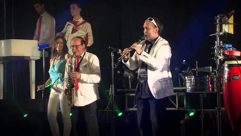 Giuliano e i Baroni orchestra festa Cavalleri e Fumeri