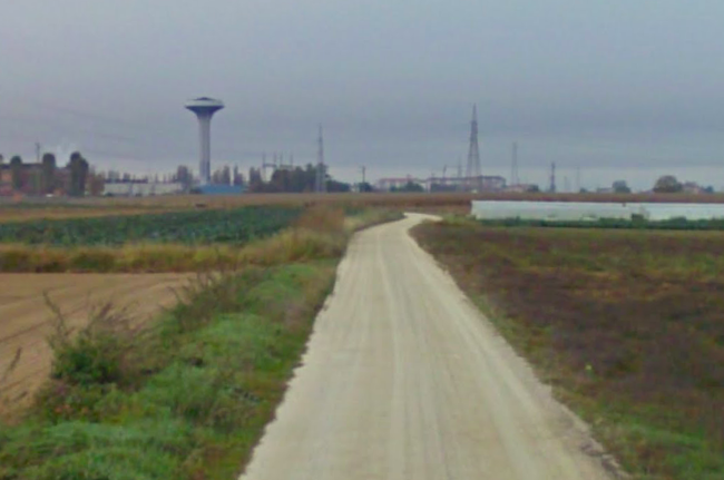 manutenzione strade bianche ph. Google Street View