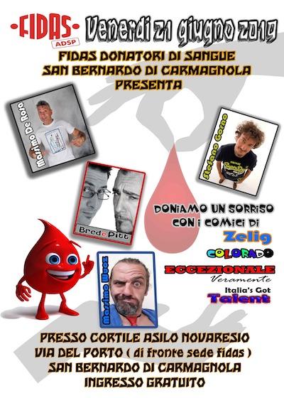 Fidas San Bernardo 2019 comici