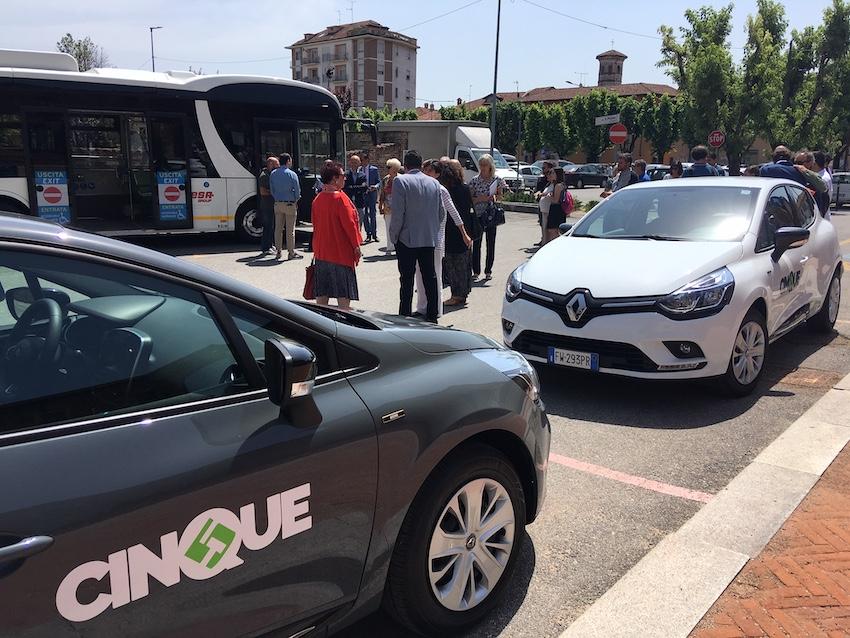Mobilità sostenibile car sharing a Carmagnola