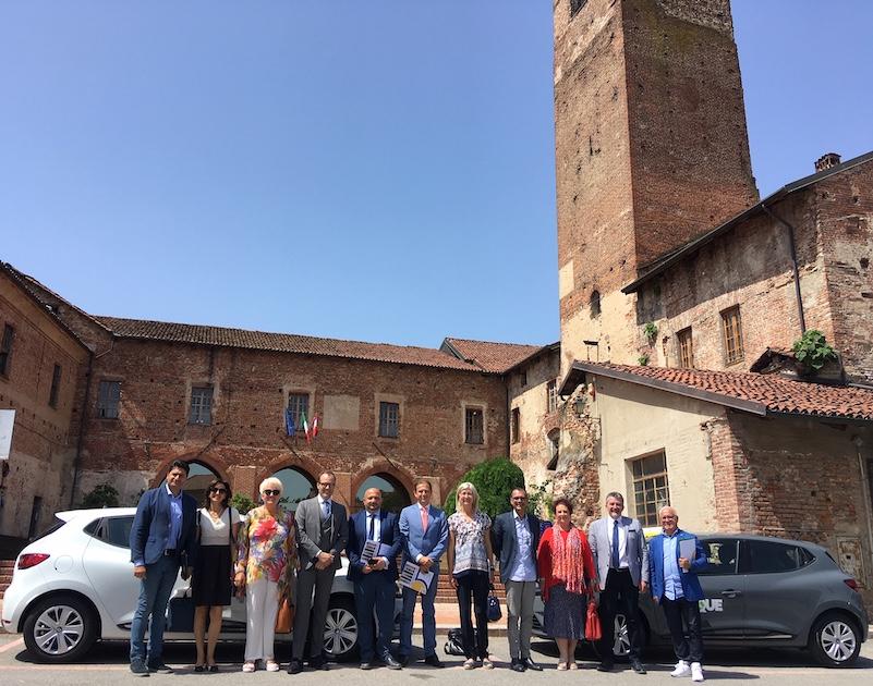 Mobilità sostenibile Carmagnola - Ph. Il Carmagnolese