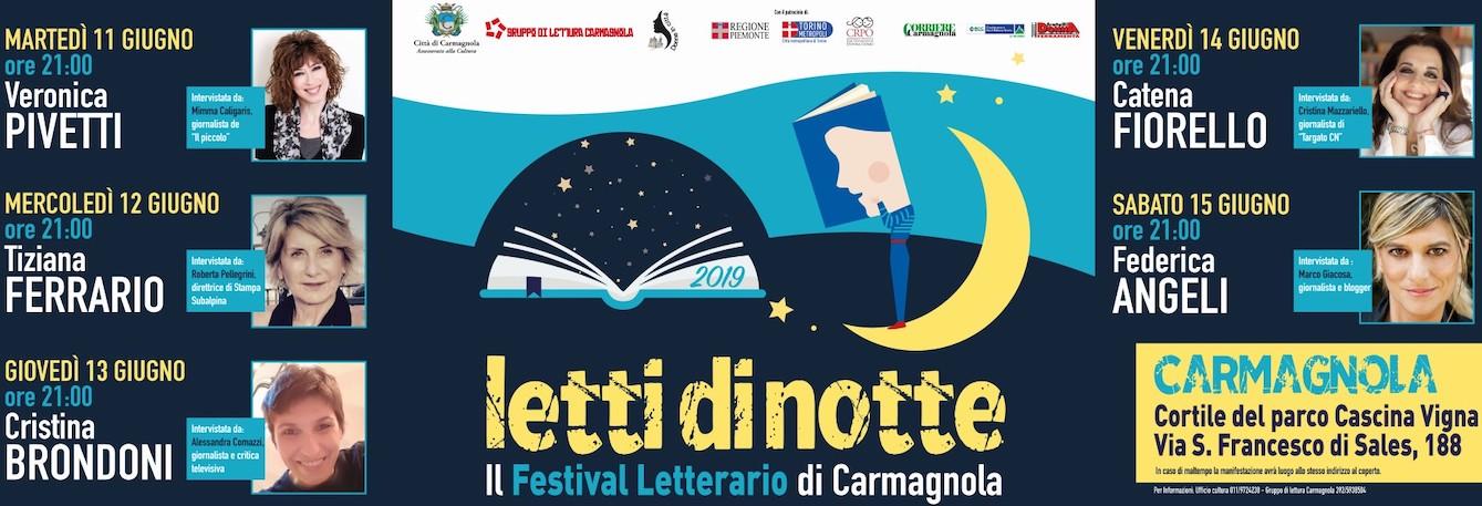 Letti di Notte 2019 Carmagnola