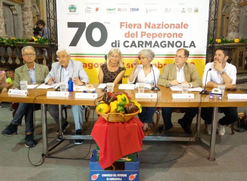 Fiera del Peperone 2019 Carmagnola presentazione