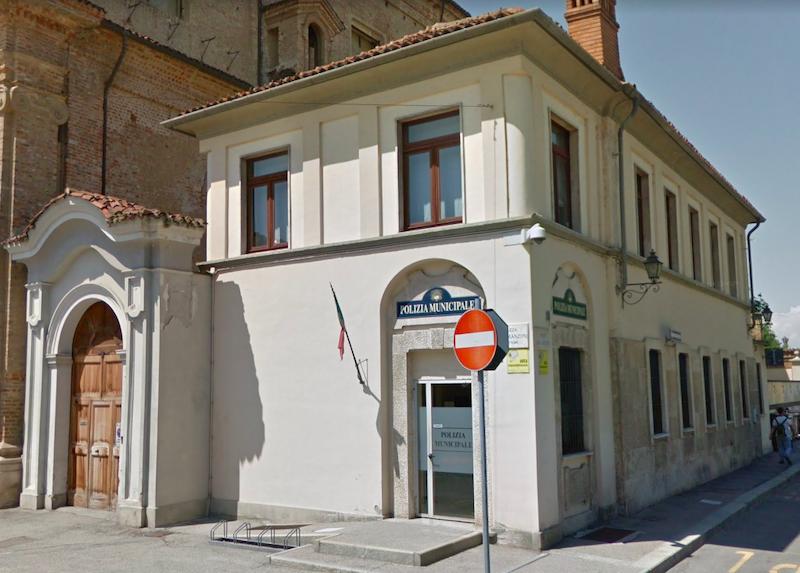 carmagnola polizia municipale concorso ph. Google Street View