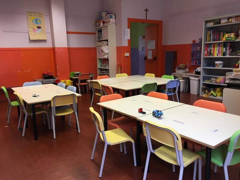 Le nuove aule della scuola dell'infanzia Sant'Anna di Carmagnola - Ph. Francesco Rasero / Il Carmagnolese