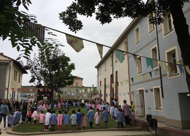 Inaugurazione della scuola dell'infanzia Sant'Anna di Carmagnola - Ph. Francesco Rasero / Il Carmagnolese