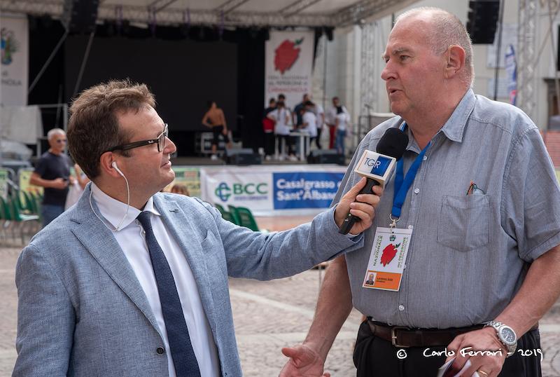 Televisioni Carmagnola intervista Lorenzo Sola