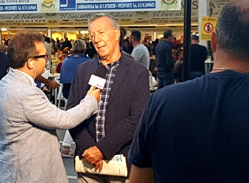 Televisioni Carmagnola intervista Piergiorgio Sola