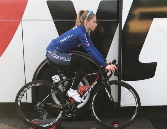 matilde vitillo al mondiale di ciclismo su strada in gran bretagna