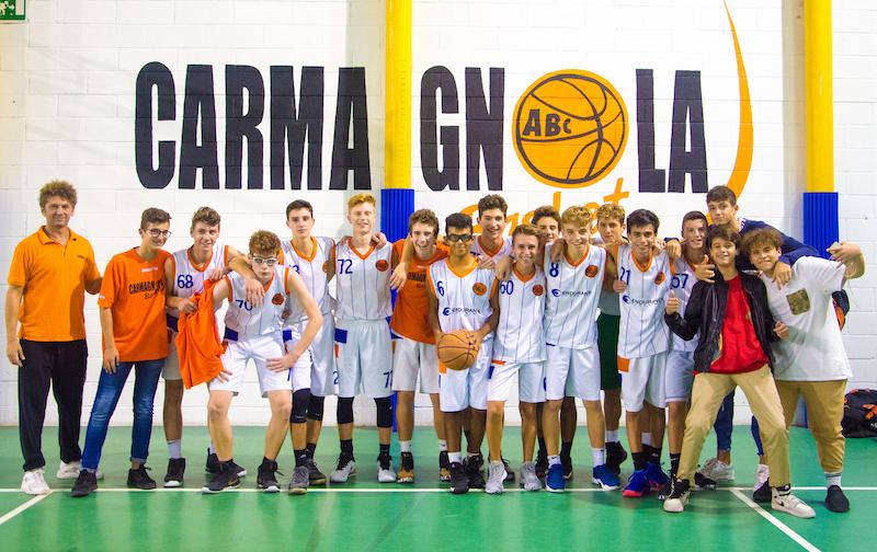 ABC Basket U16 foto Enrico Perotti Il Carmagnolese