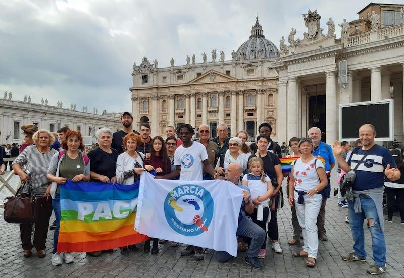 Marcia per la Pace John Mpaliza Vaticano