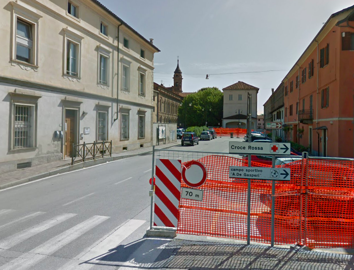 Via Ormesano Racconigi foto Google Street View