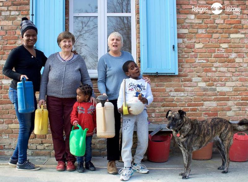 refugees welcome carmagnola