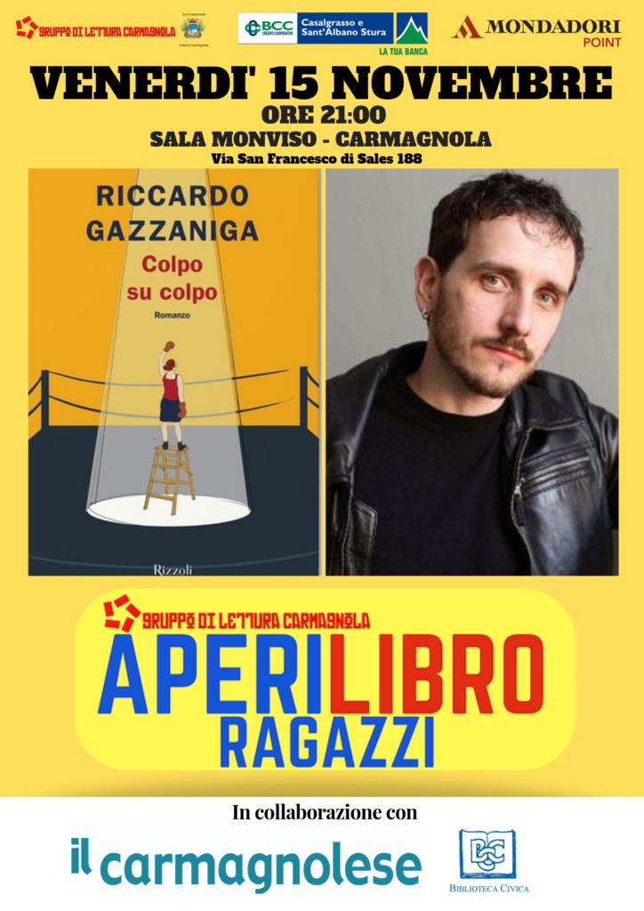 Aperilibro Ragazzi Carmagnola novembre 2019 Gazzaniga