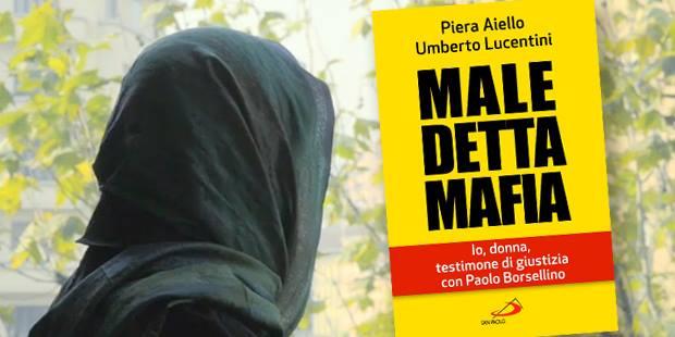 """Piera Aiello a Santena per presentare il suo libro """"Maledetta mafia"""""""