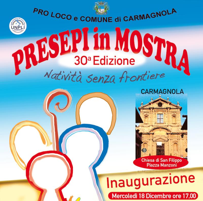 Pro Loco Carmagnola mostra presepi 2019