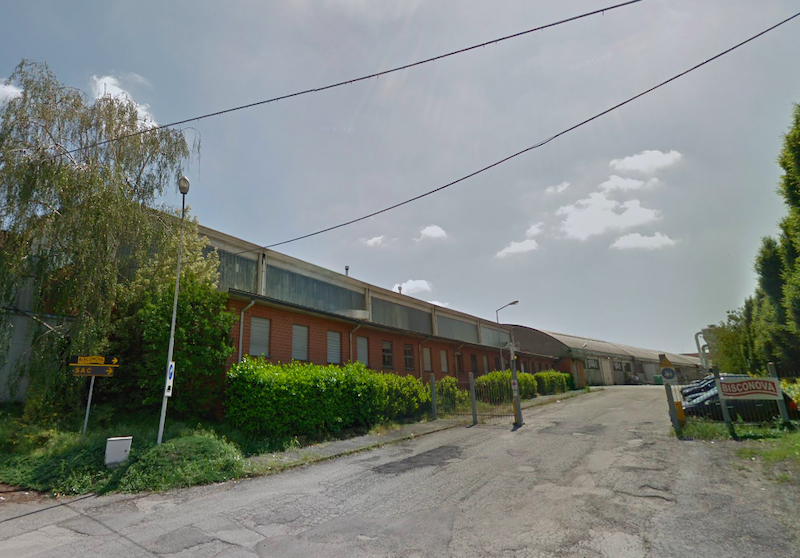 Stabilimento Bisconova San Bernardo Carmagnola crisi ph Google Street View