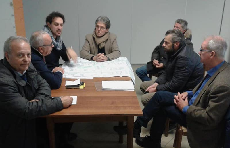 Incontro in via Torino per discutere di commercio