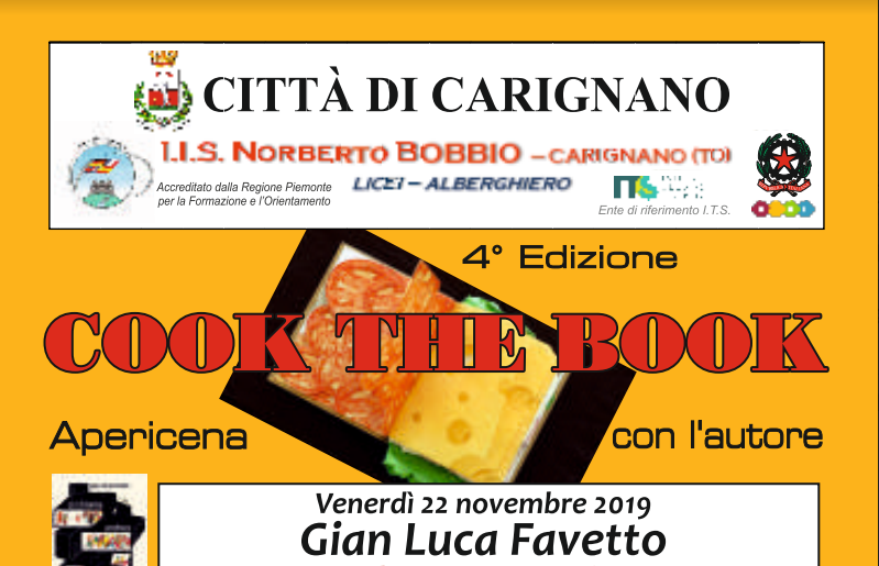 cook the book apericene letterarie Carignano
