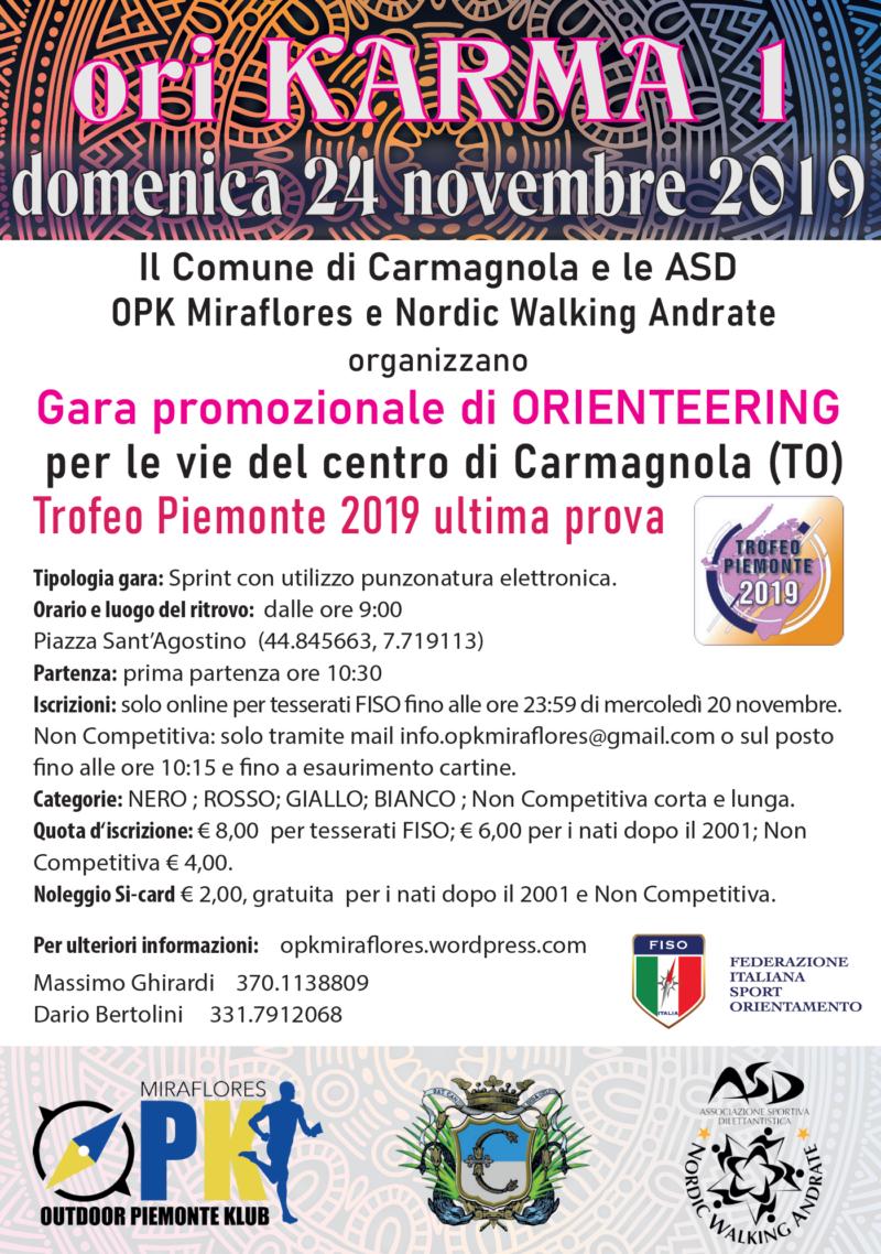 Orienteering Carmagnola