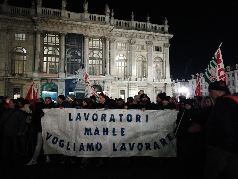 Presidio Mahle Regione Piemonte sindacati