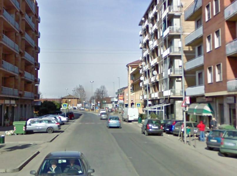 traffico semaforo verde carmagnola