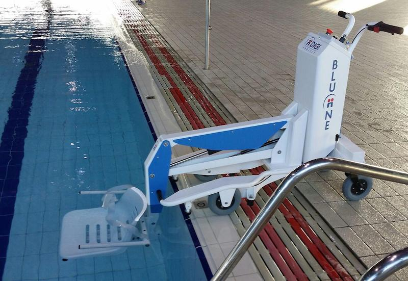 sollevatore mobile piscina carmagnola
