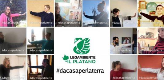 #dacasaperlaterra Legambiente Il Platano Carmagnola