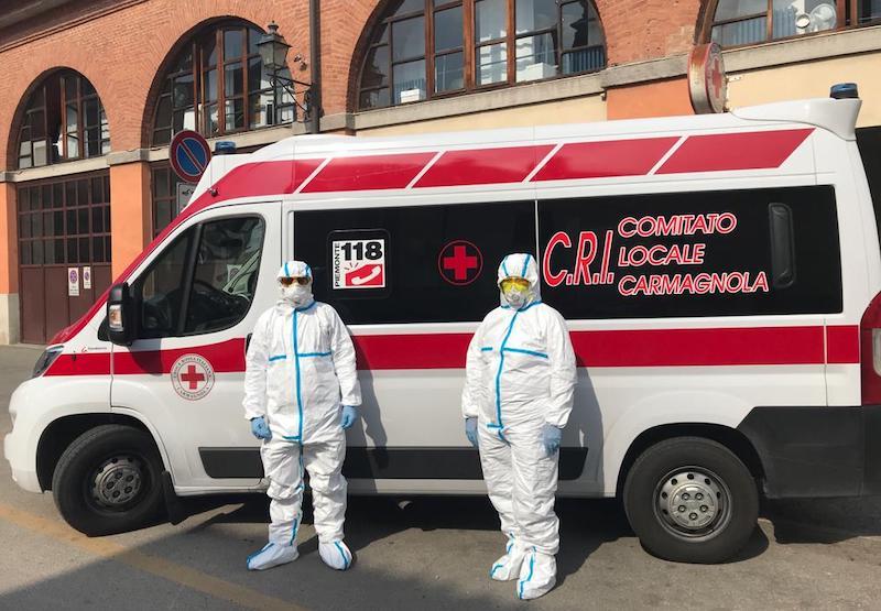 croce rossa carmagnola appello Coronavirus bcc aiuto territorio