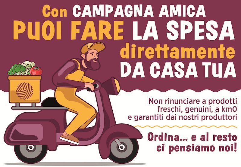 Coldiretti Piemonte: spesa a casa con Campagna Amica   Il carmagnolese