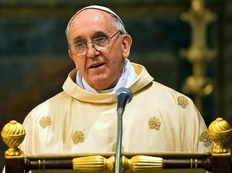 Papa Francesco preghiera Carmagnola