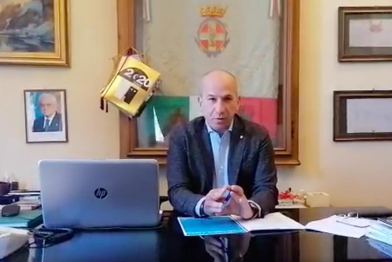 Valerio Oderda sindaco Racconigi messaggio Covid-19