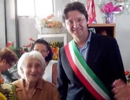 Davide Nicco Nonna Giacinta 105 anni