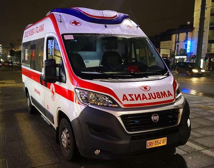 ambulanza cri contagio carignano (foto CRI Carignano)