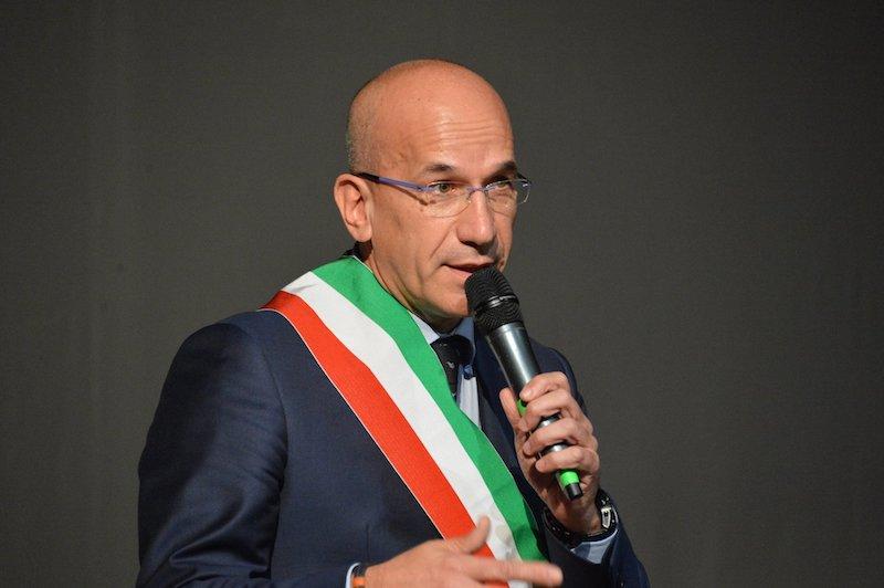 valerio oderda sindaco di racconigi coronavirus (foto Facebook) consiglio comunale racconigi porte chiuse