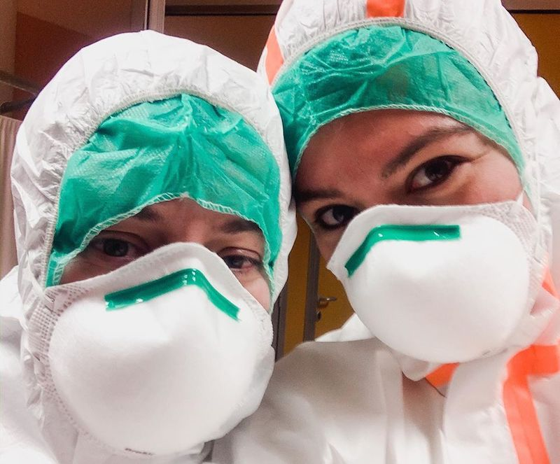 Fiuchetin Chiara infermiera ospedale san Lorenzo Carmagnola