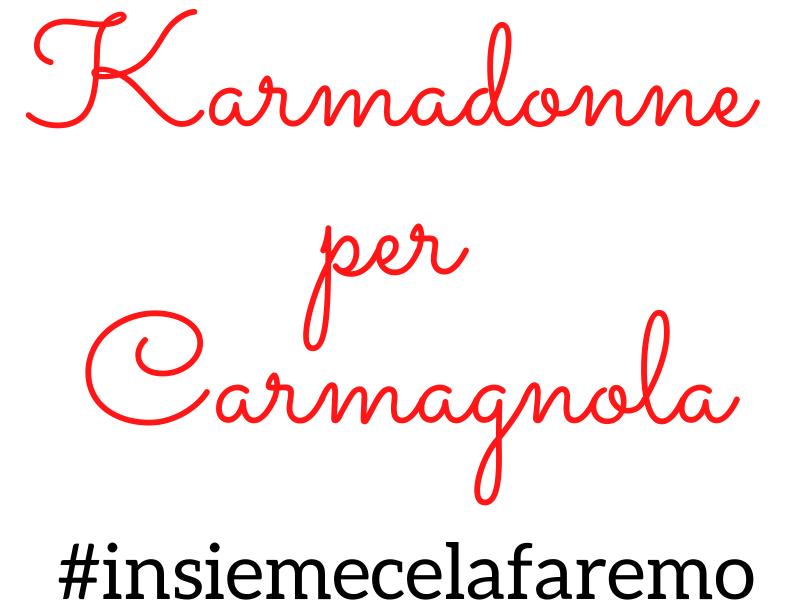 Karmadonne Carmagnola emergenza sanitaria Coronavirus