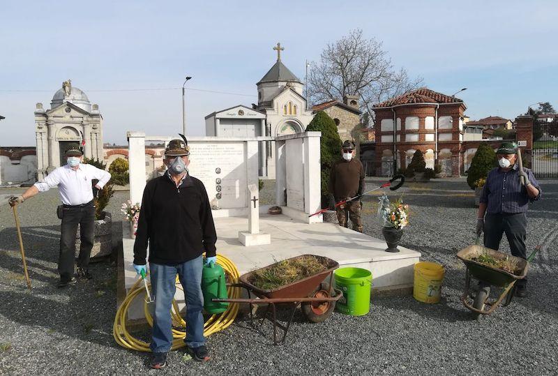 alpini ceresole manutenzione cimiteri