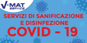 V-Mat Service Sanificazione Disinfezione Igienizzazione Covid-19