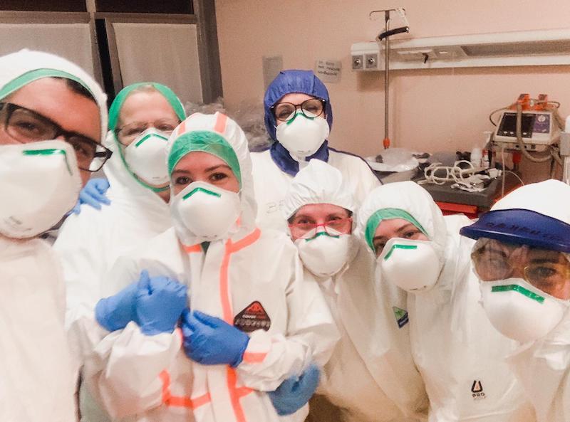 donne coronavirus udi carmagnola
