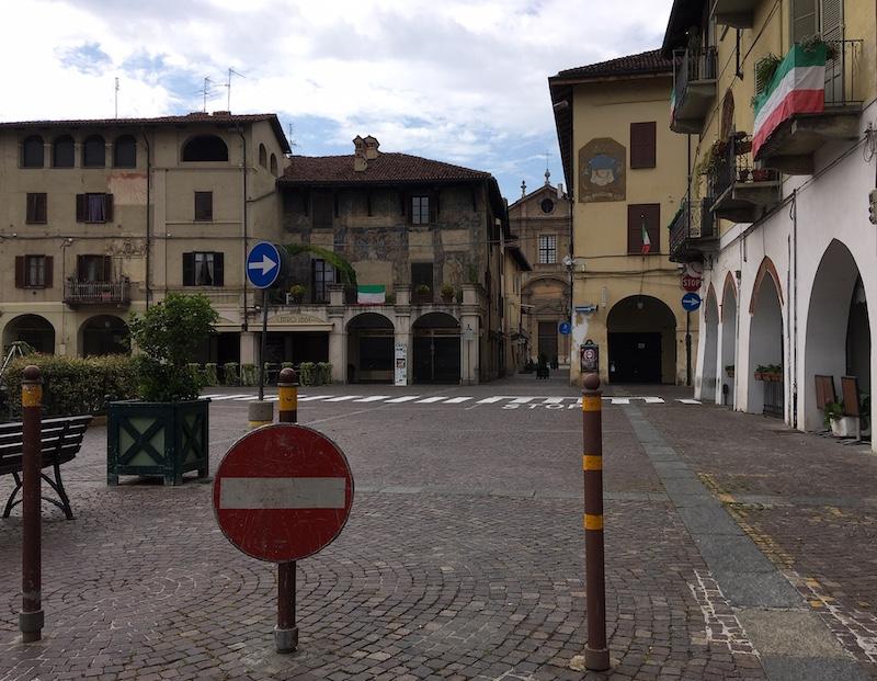 Isola pedonale Sant'Agostino Carmagnola