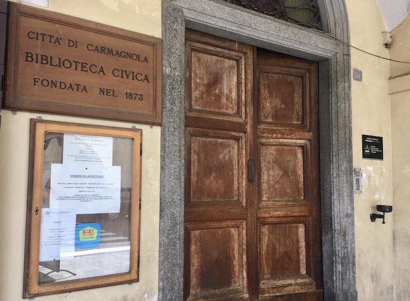 riparte la biblioteca civica di Carmagnola