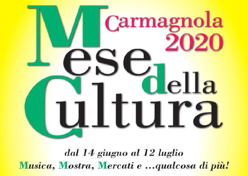 Mese della Cultura 2020 Carmagnola