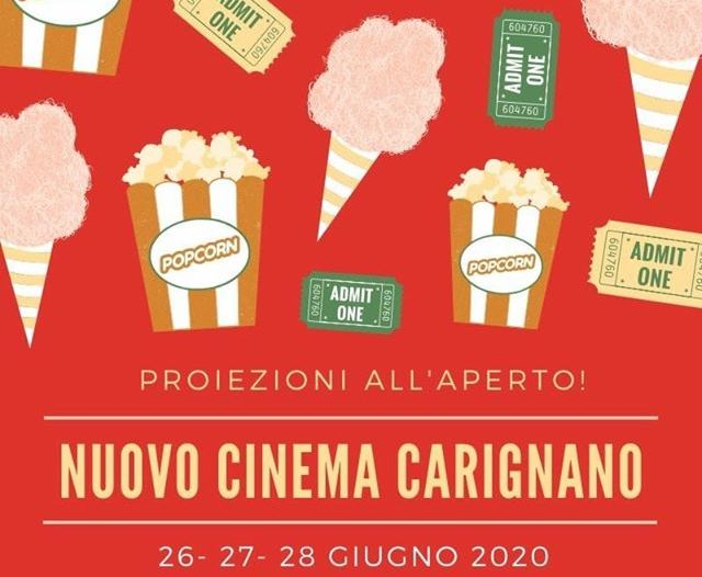 Cinema all aperto Carignano 2020