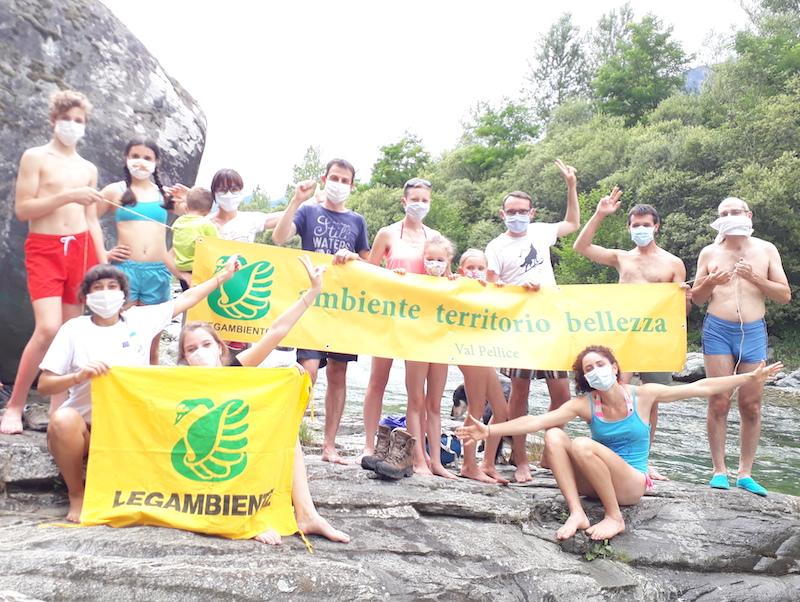 Legambiente Big Jump 2020 fiumi del Piemonte pellice