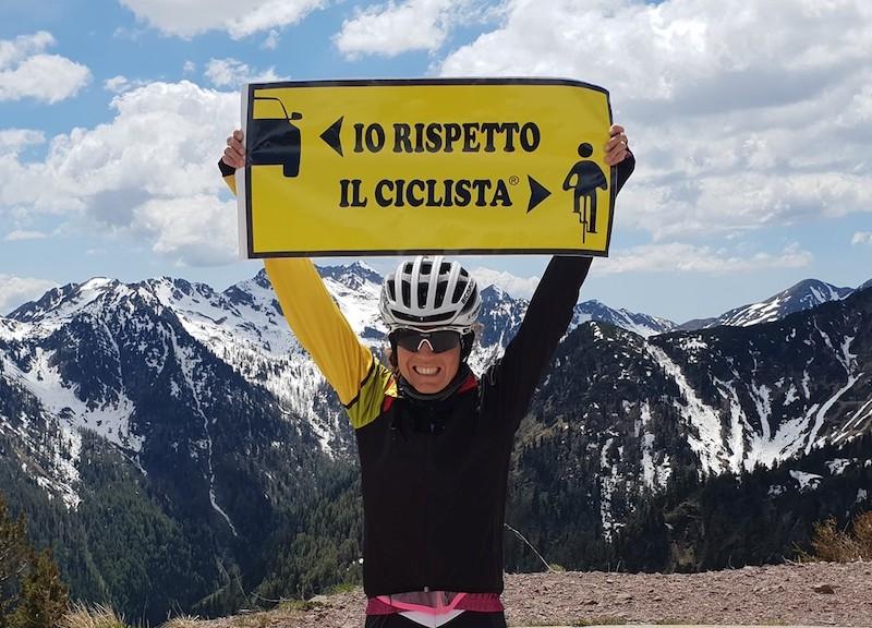 Paola Gianotti Io rispetto il ciclista