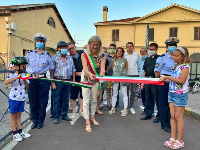 inaugurazione pista ciclabile carmagnola 2